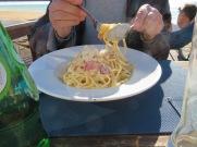 Harald a spaghetti carbonara