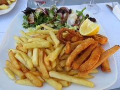 I quite enjoyed my fried cuttlefish.