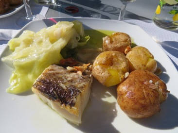 Delicious......the cabbage sweet and the salt cod, the perfect amount of salt for me.