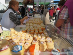 We love this woman and her cheeses. She introduced us to an amazing cheese from the Azores a few years ago.