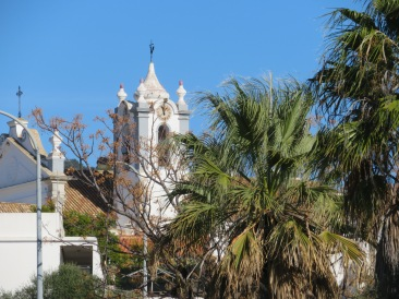 A view of the church steeple as we left the market grounds. I thought it looked quite lovely from this angle.