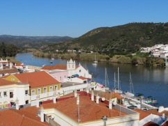 Looking North on the Guadiana River.