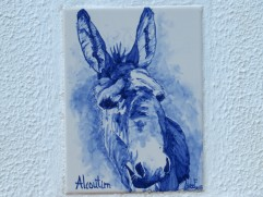 There was a poem on the wall about this donkey...I'll have to have it translated but obviously he was important enough to write a poem about.