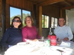 Diane, Ana and Simão