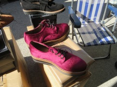 These shoes were pretty darn colourful and unless I am mistaken, they were for men!