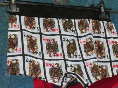 In Newfie Poker the queen is not a card you want to get......seeing these sexy undies today made me think we should buy a pair and give them to the loser!!!