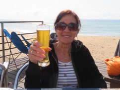 Look at our lovely friend and neighbour here in the Algarve. Diane is here now for almost a month but still have five weeks to go.