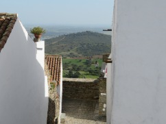 ...the hillside outside the medieval walls