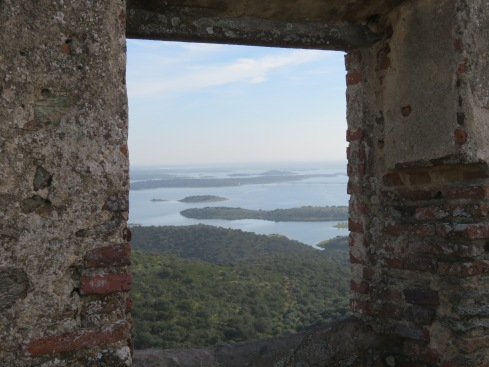 We climbed to the upper walls of the old castle that adorns one end of the village. The views were breathtaking.