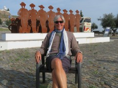 Here I am on the morning of my 64th birthday, a king in his throne!!