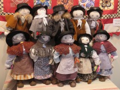 This was a lovely display of handmade dolls in local costume. I politely asked the maker if I could take a photo and she smiled broadly at me and nodded yes.