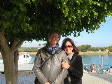 And finally, Marc and Diane......we laughed as this fig tree is the same variety we used to grow in our apartments and offices back in Canada. We were lucky if they kept their leaves through a winter.