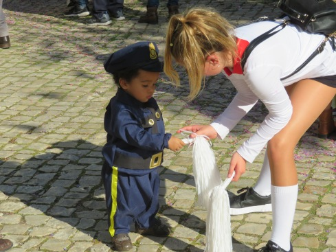 The local police force in Moncarapacho is getting younger by the day!