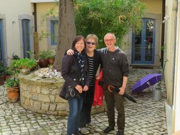 Diane, Pat and Konrad