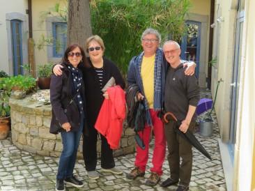 Diane, Pat, Marc and Konrad