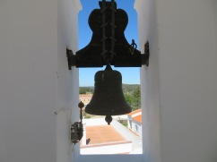 I climbed to the top of the church tower.