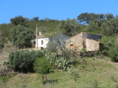 Our first village of Ferrarias was completely abandoned