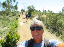 Another selfie at the very end of the route.