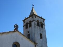 Church tower.