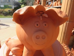 And it was at this point I got chastised for taking photos so the third, and funniest pig remains unphotographed!