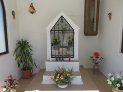 A shrine for Our Lady of Fatima.
