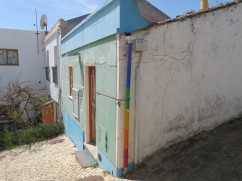 I was impressed with the rainbow coloured drainpipe. I swear it was not there the last time I walked through the village.