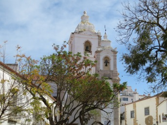 This church, in the old village, Igreja de Santo António,is classified as a National Monument. They had a huge exhibition on with artifacts dating back hundreds of years.