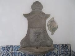 This old fountain was tucked away in a back room that I'm not certain I was supposed to go in.