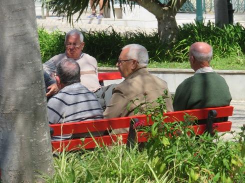More old men doing what old men do!!!!