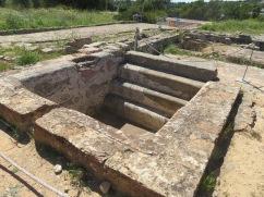 Baths at the Roman ruins