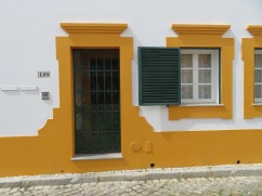 The detail around the door and windows was quite lovely and such a rich shade of yellow.