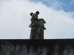 OK, this chimney caught my eye. This is one side and in a moment you'll see what was on the other.