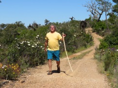 My happy husband. He enjoyed this hike very much and I loved having him along.