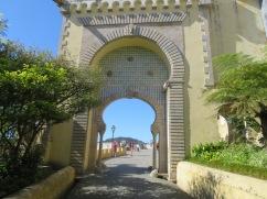 The entrance toThe Palacio Nacional da Pena