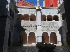 Inside one of the courtyards