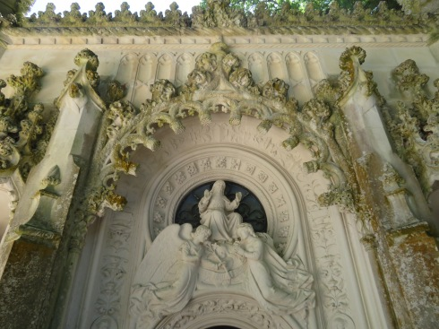 The doorway to the chapel.