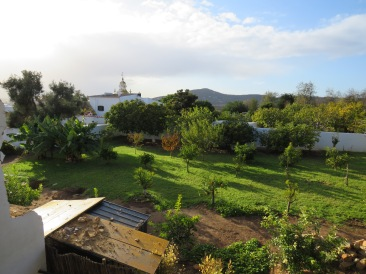 This is to the south west of the house, our neighbours garden.