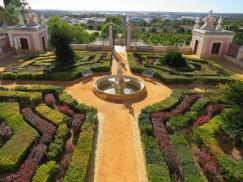 The Pousada gardens