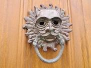 A new door knocker for me.