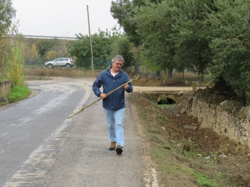 You can always find a bamboo stick to carry along in the event there might be a stray dog or a wild boar!!!!!