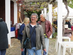 Mister Happy. Marc had just enjoyed a conversation with a lovely woman of Italian heritage who now lives in Luz da Tavira.