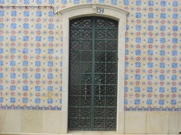 Another fabulous door and tiled exterior.