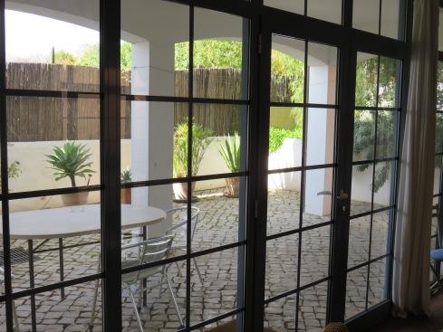 Our main floor terrace
