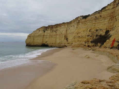 This was the view as we started our hike. the overcast weather was lovely and cool which in hindsight was a good thing.