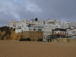 The old town from the beach.