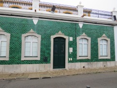 I love the green tiles.