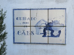 I love many of the wall tiles and this one I found amusing.