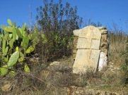 A grave marker in the absolute middle of nowhere!