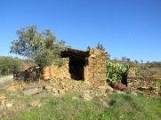 Another old farm building, in quite a state of disrepair but still being used.