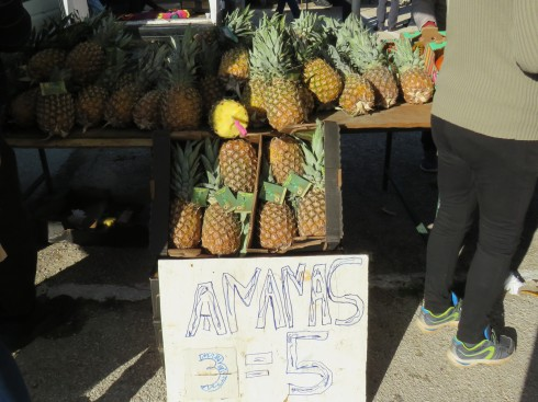 Pineapples were three for 5€